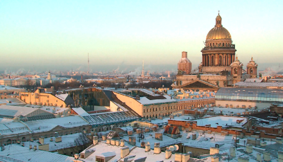 Winter in St. Petersburg