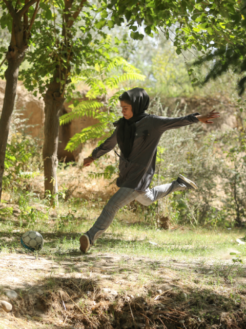 A GOAL FOR FREEDOM - Women's Football in Kabul