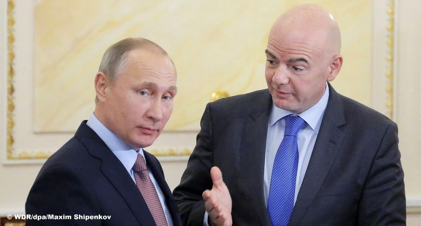 Putin, FIFA and the Confed-Cup