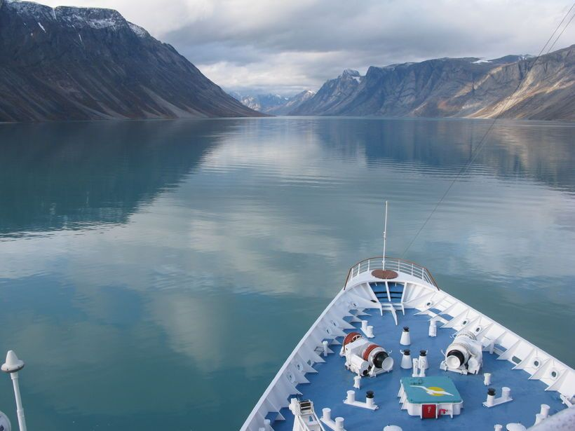 Going Northwest - Greenland by Ship