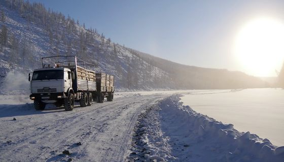 The Ice Truckers of Yakutia