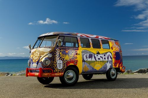 Volkswagen featured the Woodstock Bus!